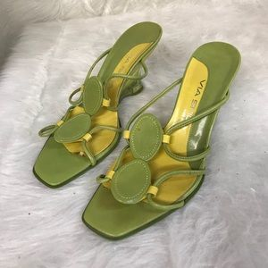 Via Spiga Italian Shoes acrylic heel